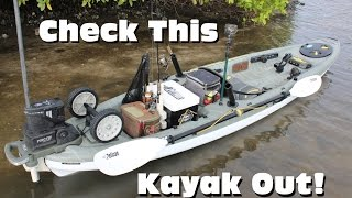 Ultimate Inshore Fishing Kayak Rigging: Pelican Strike 120x Angler(Visit http://www.pelicansport.com for more info! In this video I show you how I made some DIY modifications to my Pelican Strike 120x Angler including: - a live ..., 2015-11-06T19:36:42.000Z)