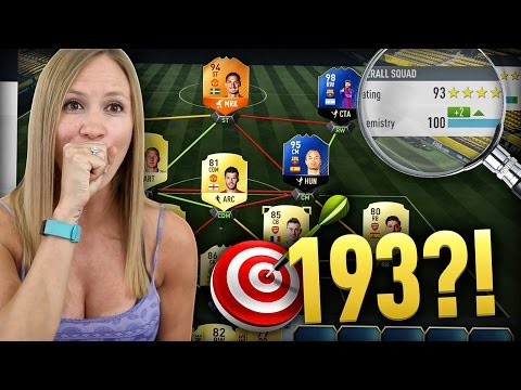 EPIC 193 RATED WORLD RECORD FUT DRAFT ATTEMPT !! FIFA 17 ULTIMATE TEAM !!