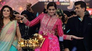 Sonam Kapoor & Fawad Khan promote Khoobsurat on Jhalak Dikhhla Jaa 7 6th September 2014 episode