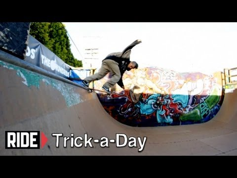 How-To Skateboarding: Backside Tailslide On Transition With Tony Karr