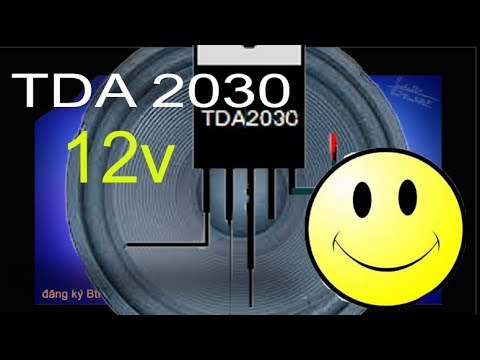 How To Make Audio Amplifier Circuit With Tda 2030 Using 12v The Best