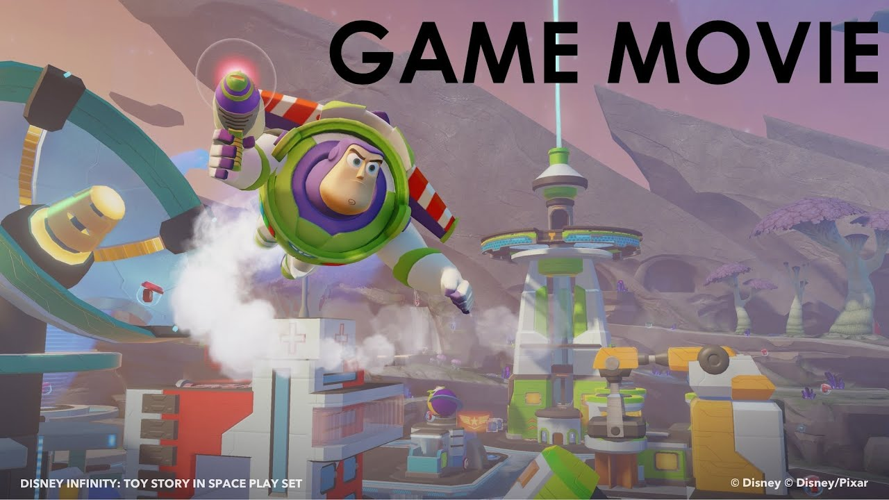 Toy Story Games To Play : Disney infinity toy story in space play set game movie