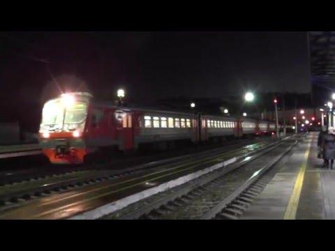 Электропоезд ЭД4М-0238 сообщением Москва - Владимир