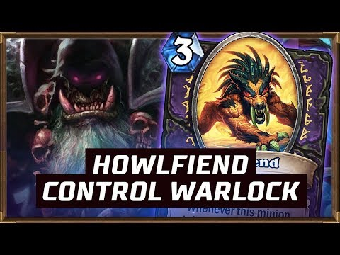 How To Play Howlfiend Control Warlock?   The Boomsday Project   Hearthstone