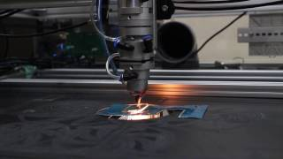Cutting Metal with 100W Laser