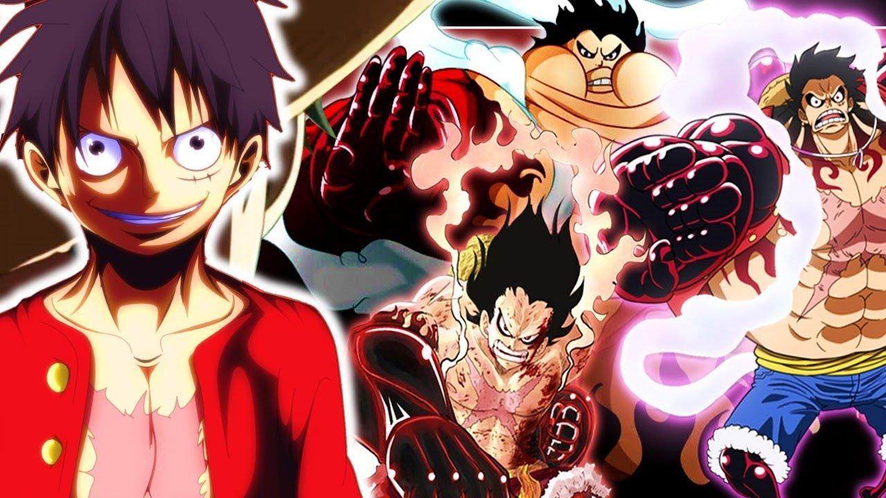 One Piece Monkey D Luffy Gear 4 The Power To Change Forms 921