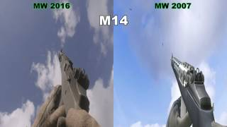 COD MW vs COD MWR - Graphic, Audio and Animations Comparison 1440p 60fps PC ULTRA