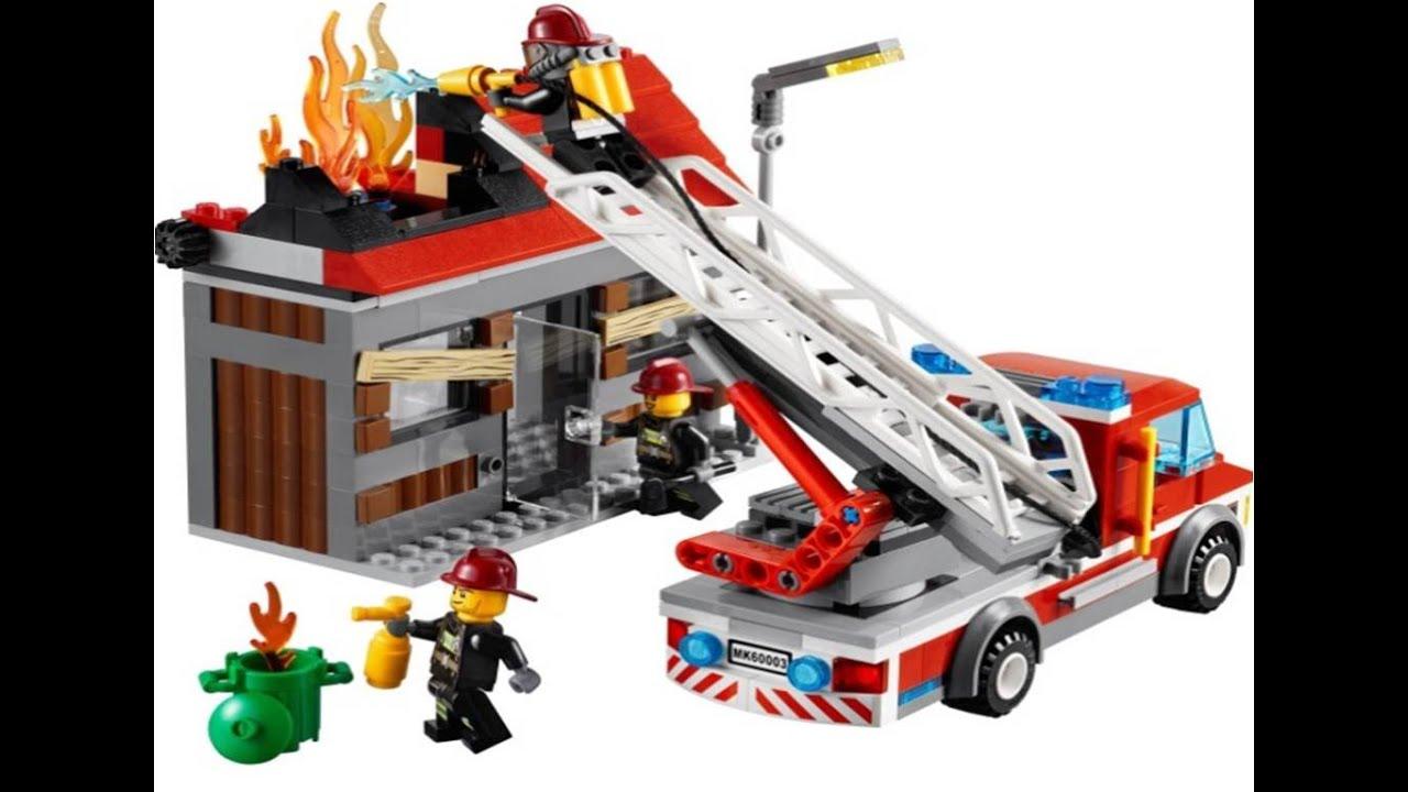 lego city camin de bomberos juguetes para nios lego juguetes infantiles youtube