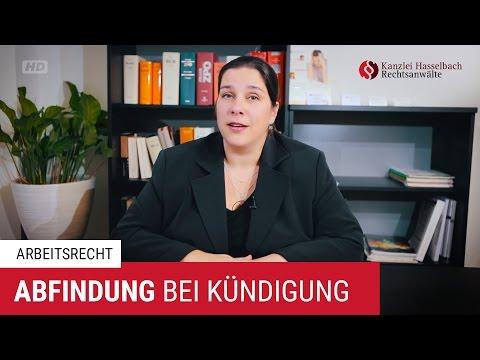 Abfindung bei betriebsbedingter Kündigung? – Kanzlei Hasselbach