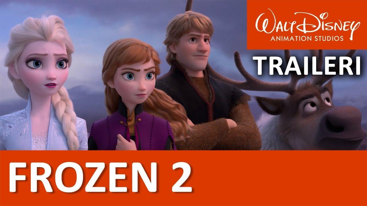 Frozen 2 Traileri Suomeksi