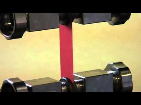 Tensile strength test equipment, packaging material testing