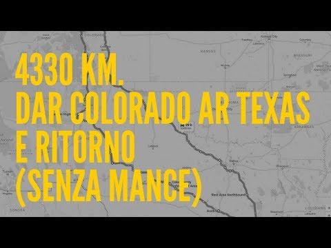 4330 km. - Un Road Movie dar Colorado ar Texas (dormendo in macchina)