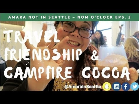 Campfire Hot Chocolate Mork Storytime in Melbourne, Australia | Travel w/ Amara Not In Seattle