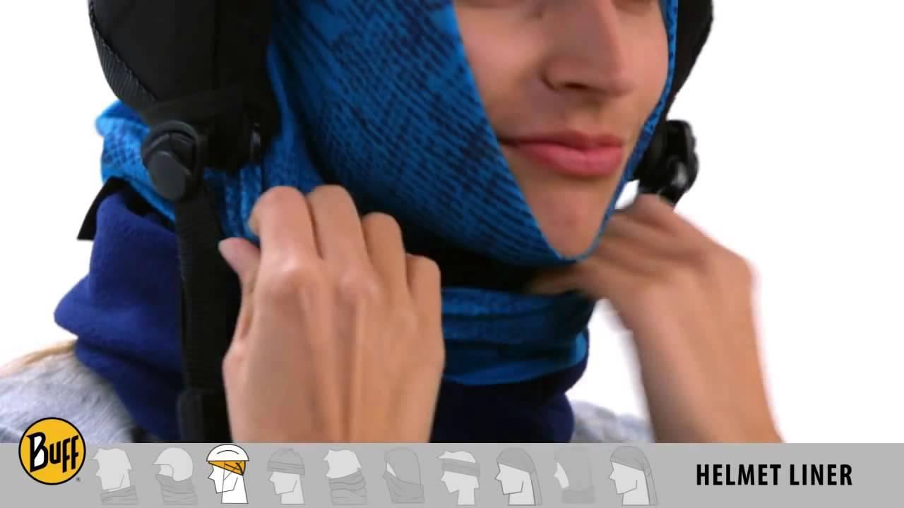 Buff® Polar Otoño Invierno 2016 Proteccion cara cuello cabeza - YouTube