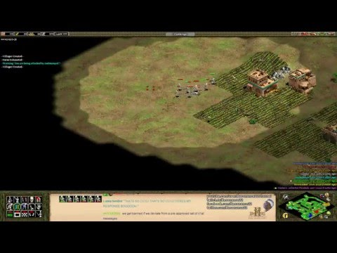 "Aoe2 HD: ""African Kingdoms"" - Incas, Far Out Special Map (Eagle Rush)"