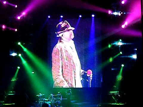 Guns N' Roses – Don't Cry  (Chinese Democracy World Tour 2010)