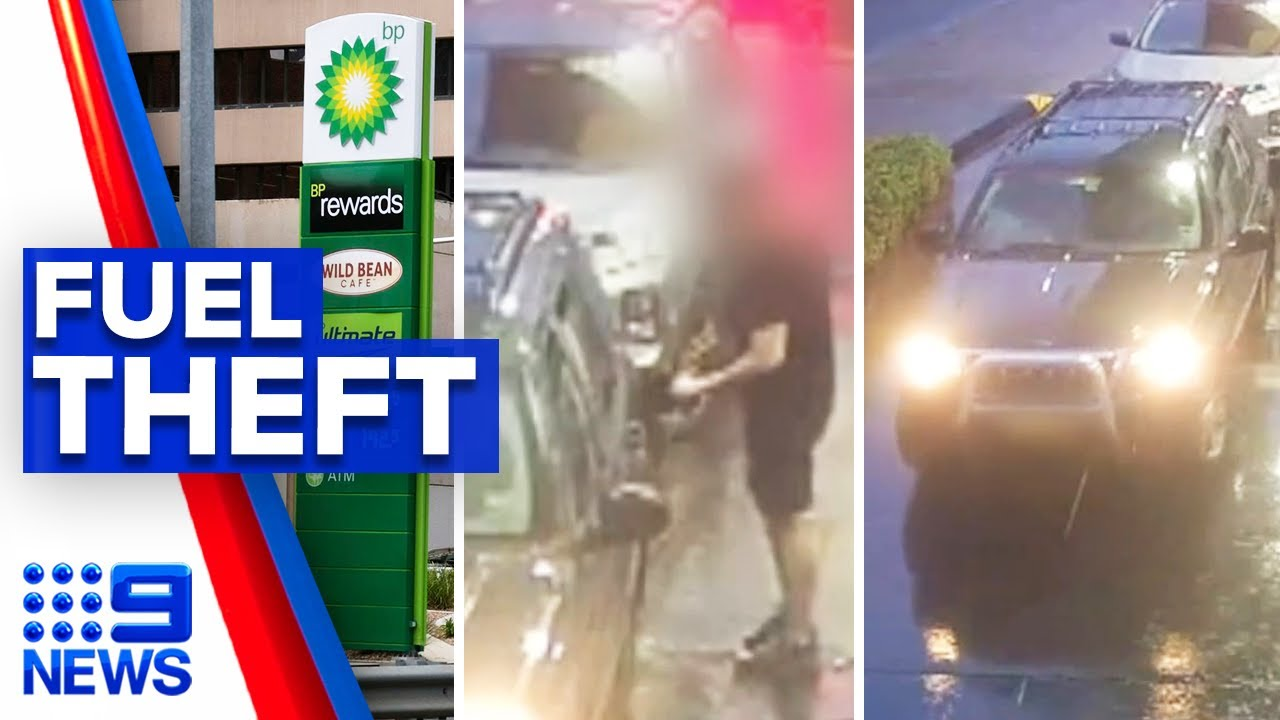 Spike in fuel theft incidents | 9 News Australia