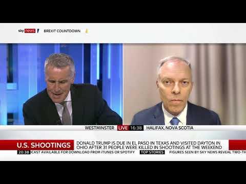 Sky News (UK), Aug. 7, 2019: Trump & White Supremacist Violence