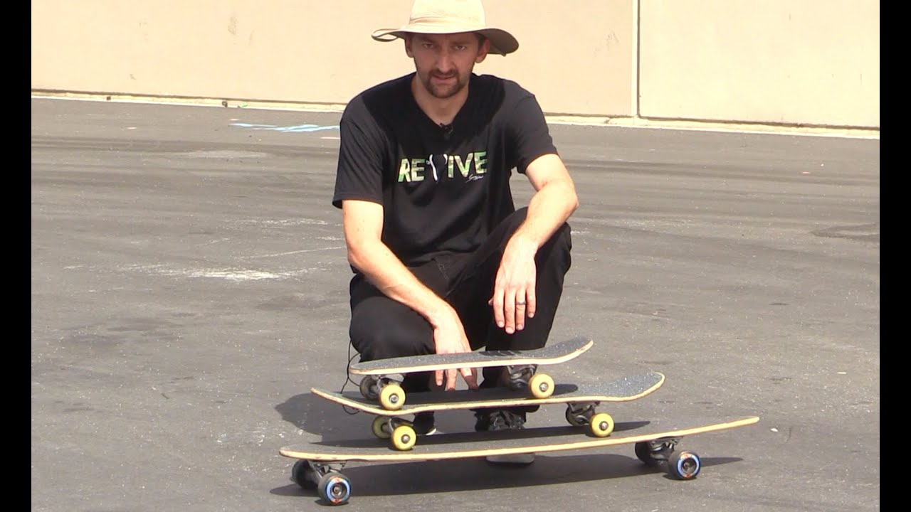 THE DIFFERENT TYPES OF SKATEBOARDS EXPLAINED - YouTube