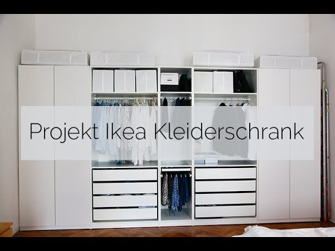 projekt ikea kleiderschrank youtube. Black Bedroom Furniture Sets. Home Design Ideas