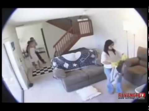 Cheating Wife Cought On Tape