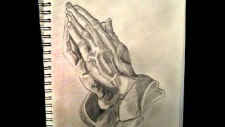 Praying Hands from Drawing Lesson