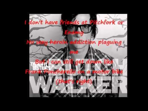 "Butch Walker - ""Synthesizers"" lyrics"