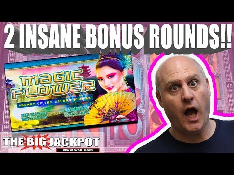 NEW GAME!! Magic Flower Slots BONUS WIN$ | The Big Jackpot