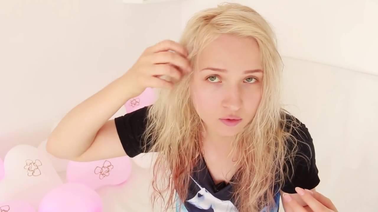 Видео помыла волосы колой