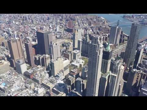 tour of the one world observatory & 9-11 memorial, NYC