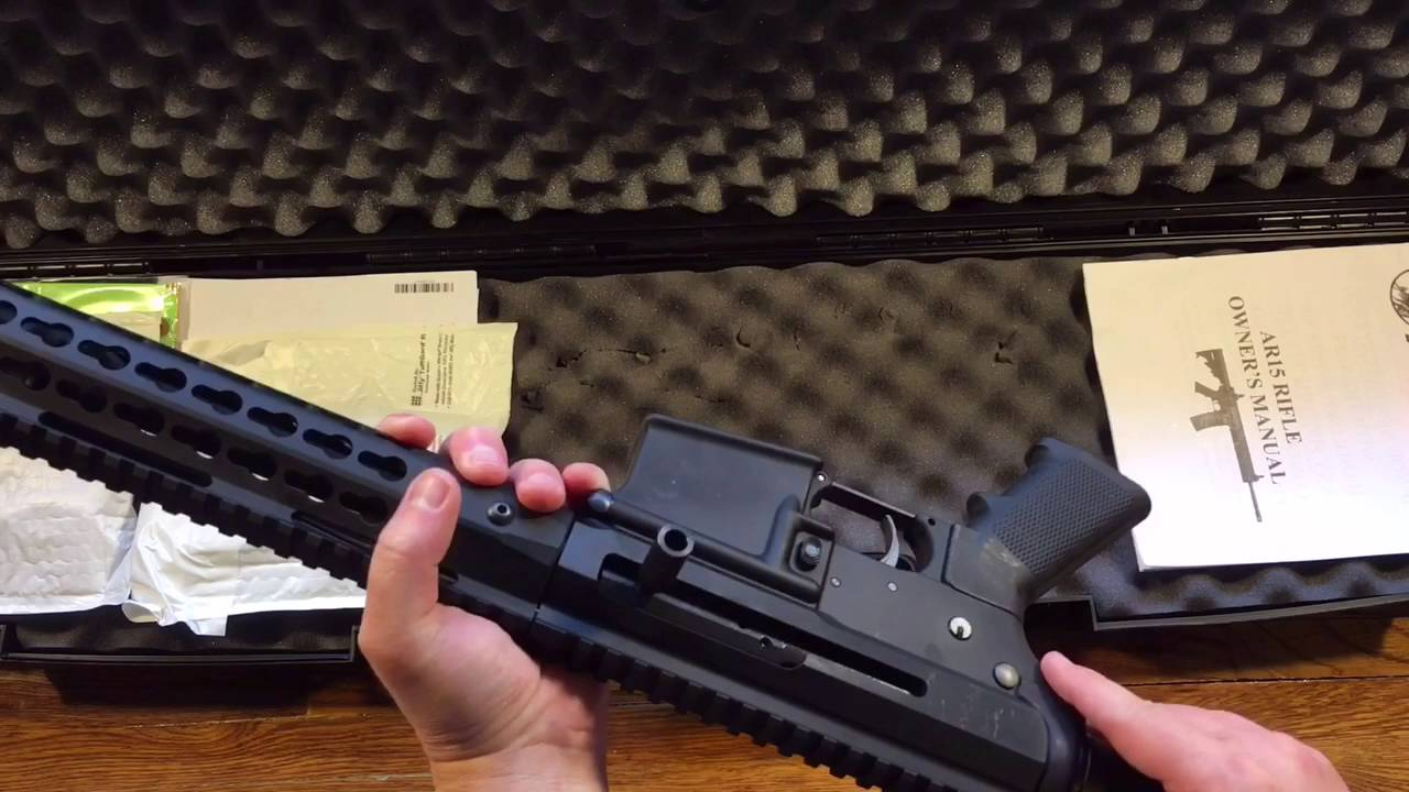 Bear Creek Arsenal Side Charging AR-15 upper with 15