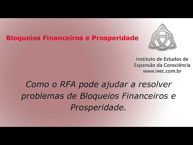 Bloqueios Financeiros e Prosperidade