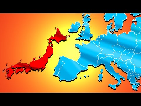 I Moved Japan to Europe and This Happened - Europa Universalis 4 EU4 |