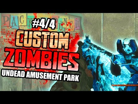 "FOUND PACK A PUNCH! - Custom Zombies ""UNDEAD AMUSEMENT PARK"" | Part 4/4"