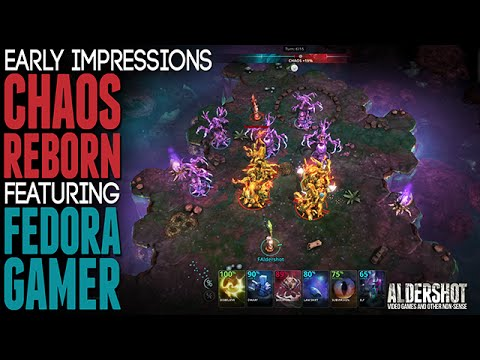 Chaos Reborn: Early impression Ft: FedoraG4mer (Indie multiplayer strategy game)