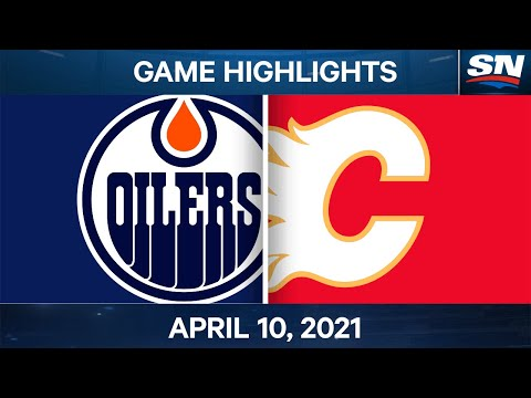 NHL Game Highlights | Oilers vs. Flames – Apr. 10, 2021