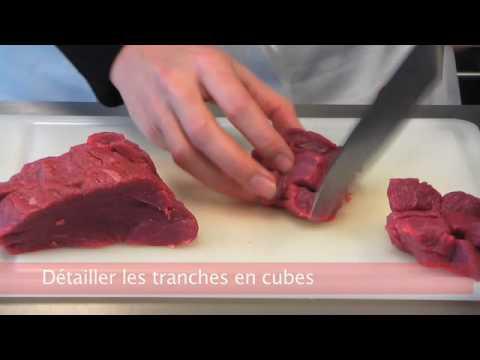 Cuisiner fut hacher la viande tartare youtube for Viande a cuisiner