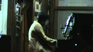 Gaye amar pulak lage on Rabindranath's Piano .mp4