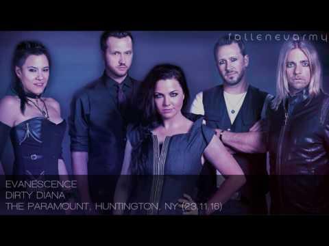 Evanescence - Dirty Diana (The Paramount, Huntington, NY - 23.11.16)