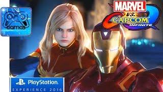 Marvel vs.  Capcom 4: Infinite - Кинематографичный Трейлер [PlayStation Experience 2016]
