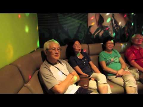 Karaoke at Famosa Idol, Malacca, 25 June 2014