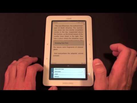 Barnes & Noble Nook: Unboxing and Demo