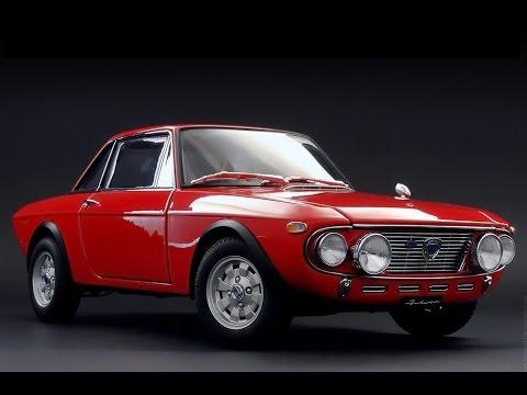 Lancia fulvia 1.6 HF rally fanalona tributo - YouTube