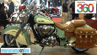 Indian Bikes Pavilion at Auto Expo 2016 | #YT360Day | 360 Degree Videos | Manorama 360