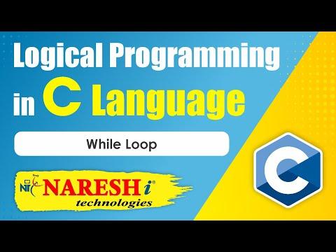 While loop   Logical Programming in C   by Mr.Srinivas