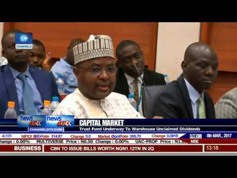 Capital Market: Trust Fund Underway To Warehouse Unclaimed Dividends