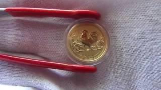 видео Золотая монета Австралии Лунар II