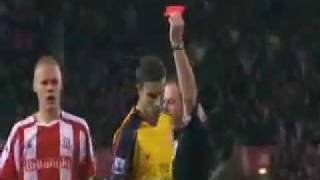 The Most deserving Red Card ever...