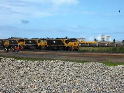 Locomotives at Abbot Point