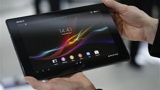 Xperia Tablet Z - Fácil Reproducción y Transferencia